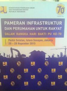 Pameran Infrastruktur dan Perumahan untuk Rakyat Digelar 28 29 November 2015