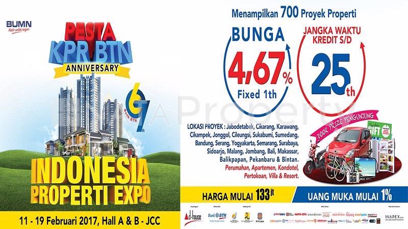 Indonesia Properti Expo 2017 Pada 11-19 Februari 2017