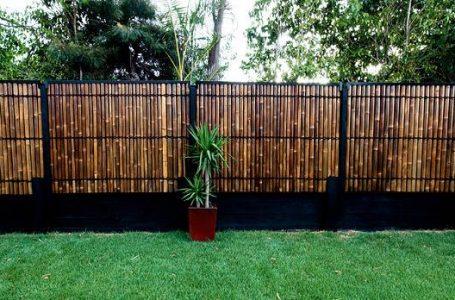 Percantik Pagar Rumah Anda Dengan Pagar Bambu