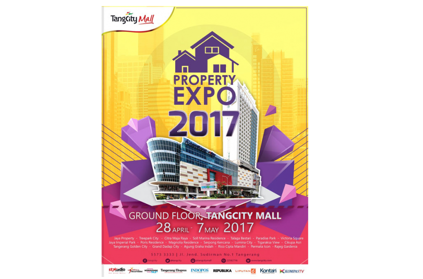Property Expo Tangcity Mall Pada 28 April-7 Mei 2017