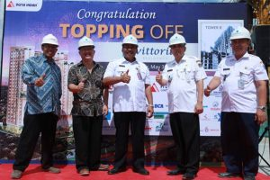 Topping Off Vittoria Residence