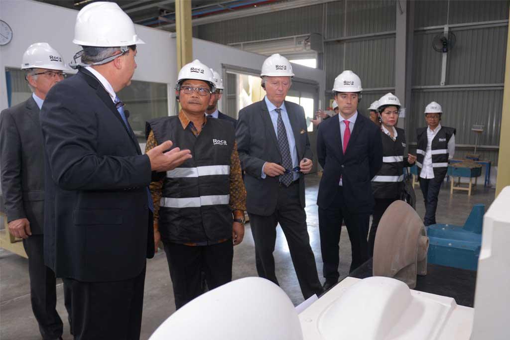 Roca Group Resmikan Pabrik Pertama Di Indonesia