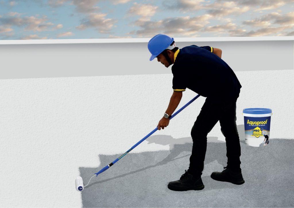 Aquaproof Pro Melindungi Dak Beton Lebih Sempurna