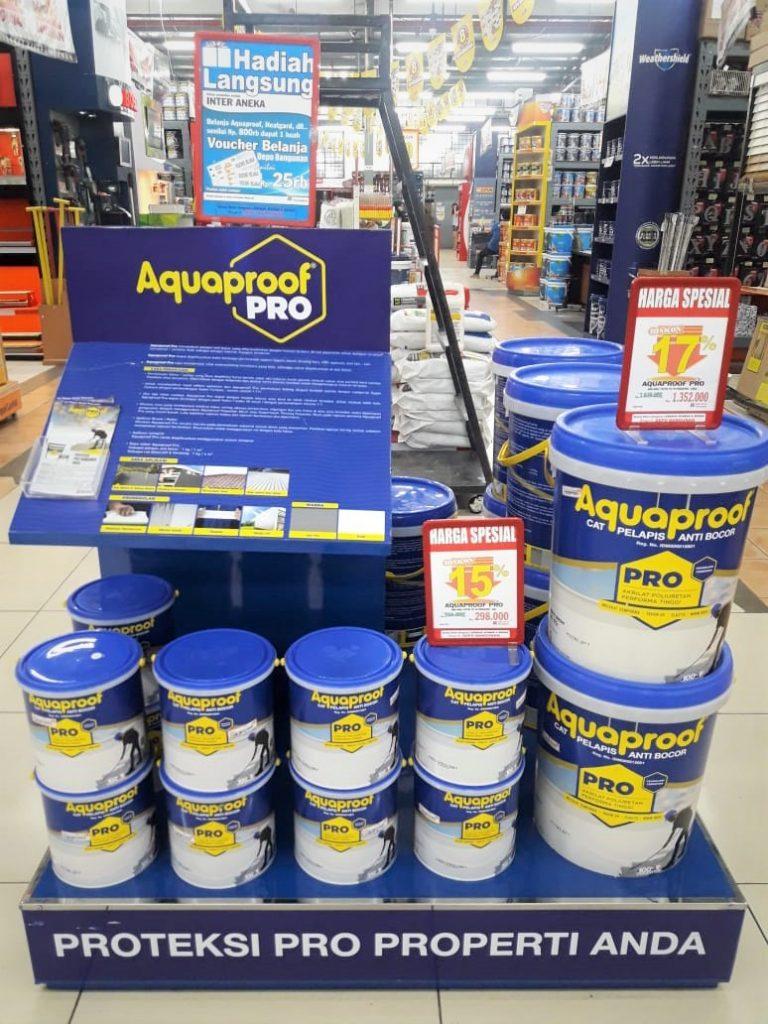 Aquaproof Pro Melindungi Dak Beton Lebih Sempurna 3