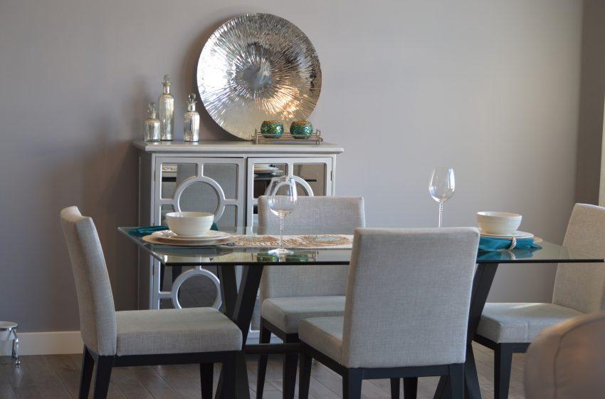 Tips Mengatur Ruang Makan Yang Sempit