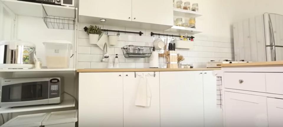 kitchen set minimalis 2