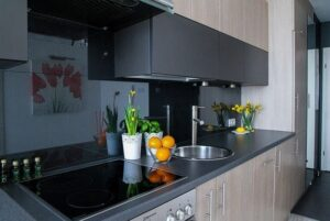 dekorasi dapur sedeerhana