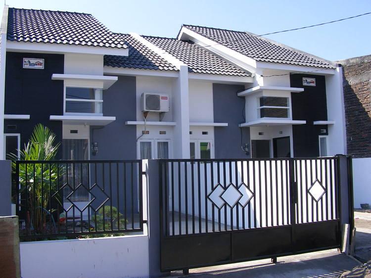 pagar rumah minimalis 2