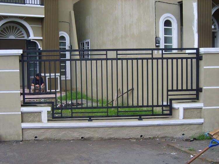 pagar rumah minimalis 4